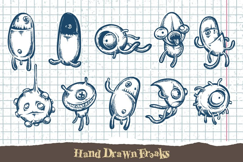 Sketchy Doodle Monsters example image