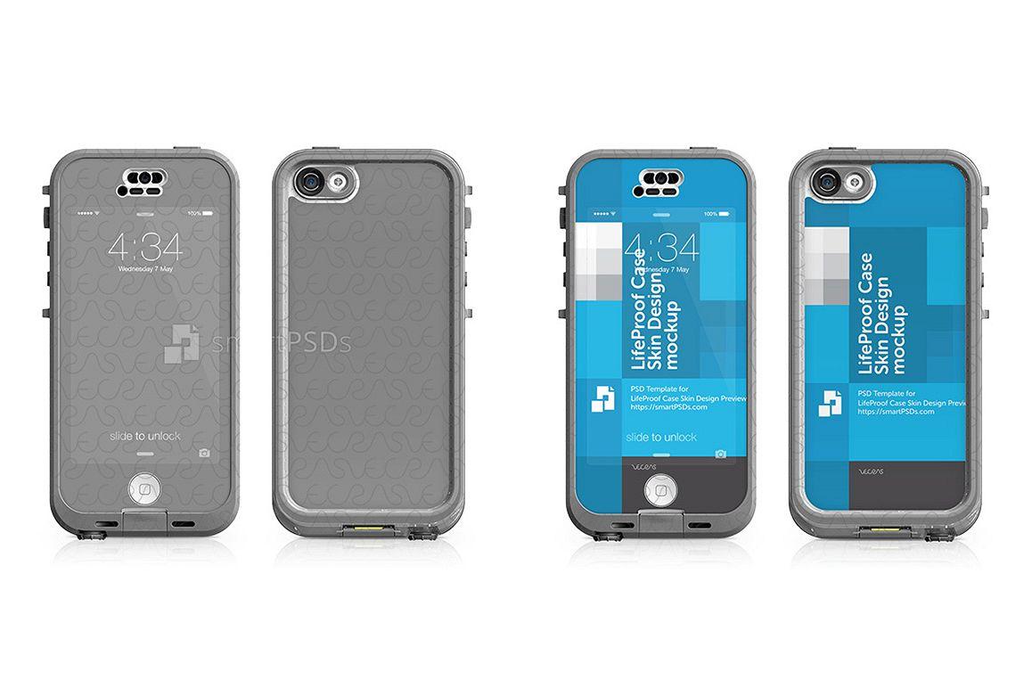 Apple iPhone 5C LifeProof NUUD Case Ski | Design Bundles