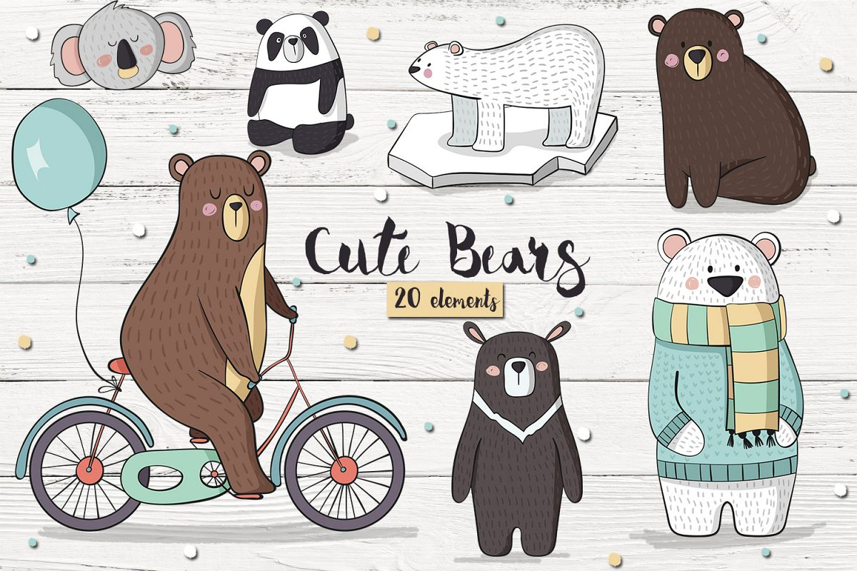 Cute Bears example image