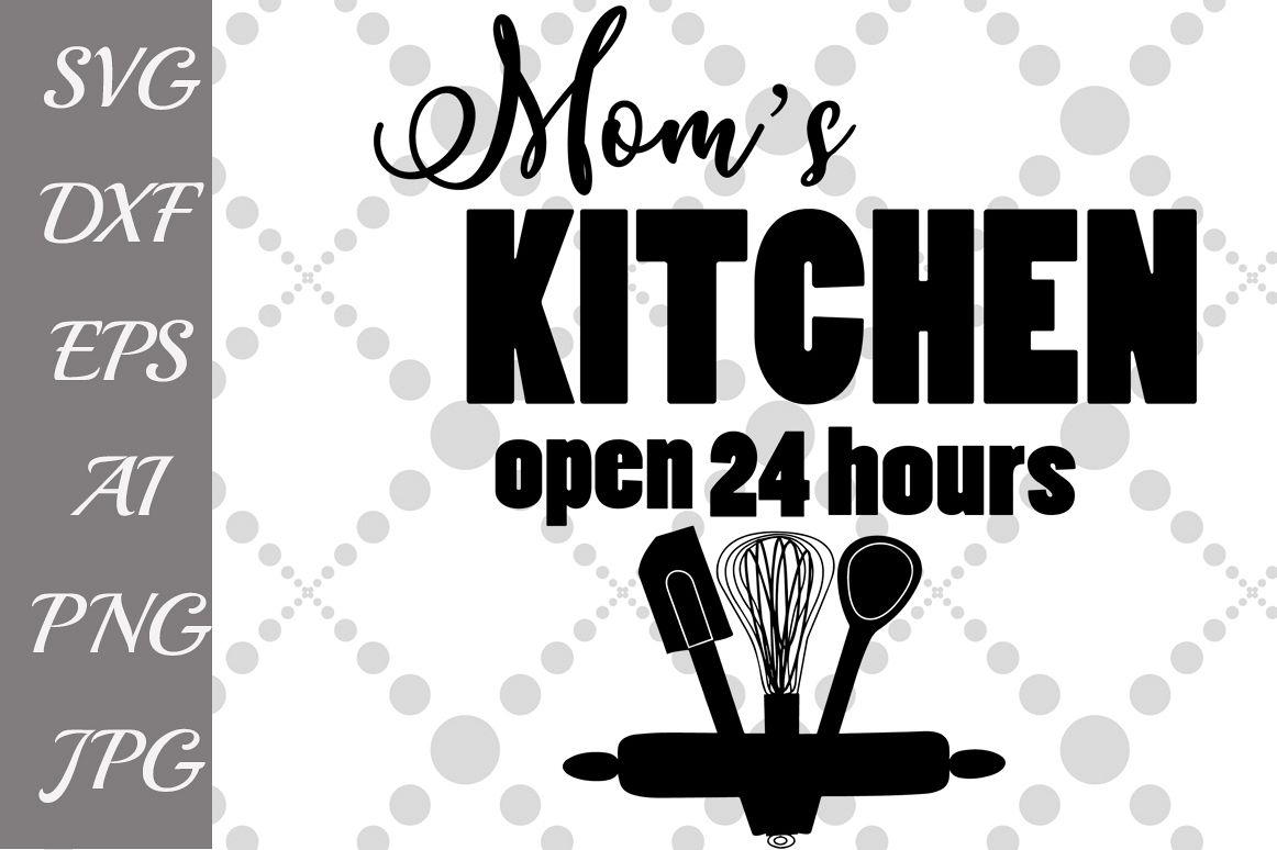 Moms Kitchen svg by PrettyDesignStudio | Design Bundles
