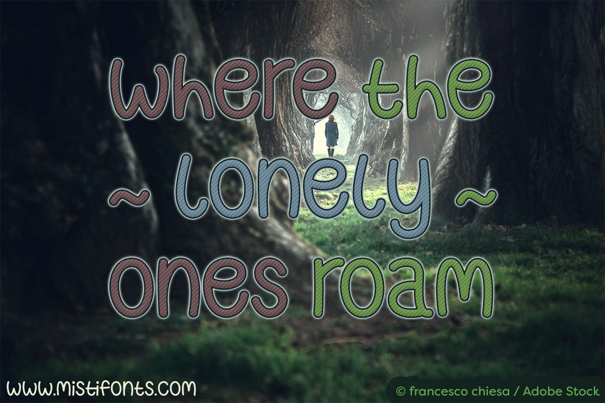 Where the Lonely Ones Roam example image