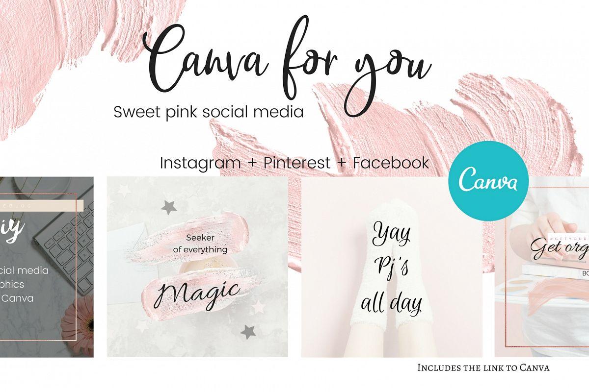 CFY - Sweet pink Social media example image