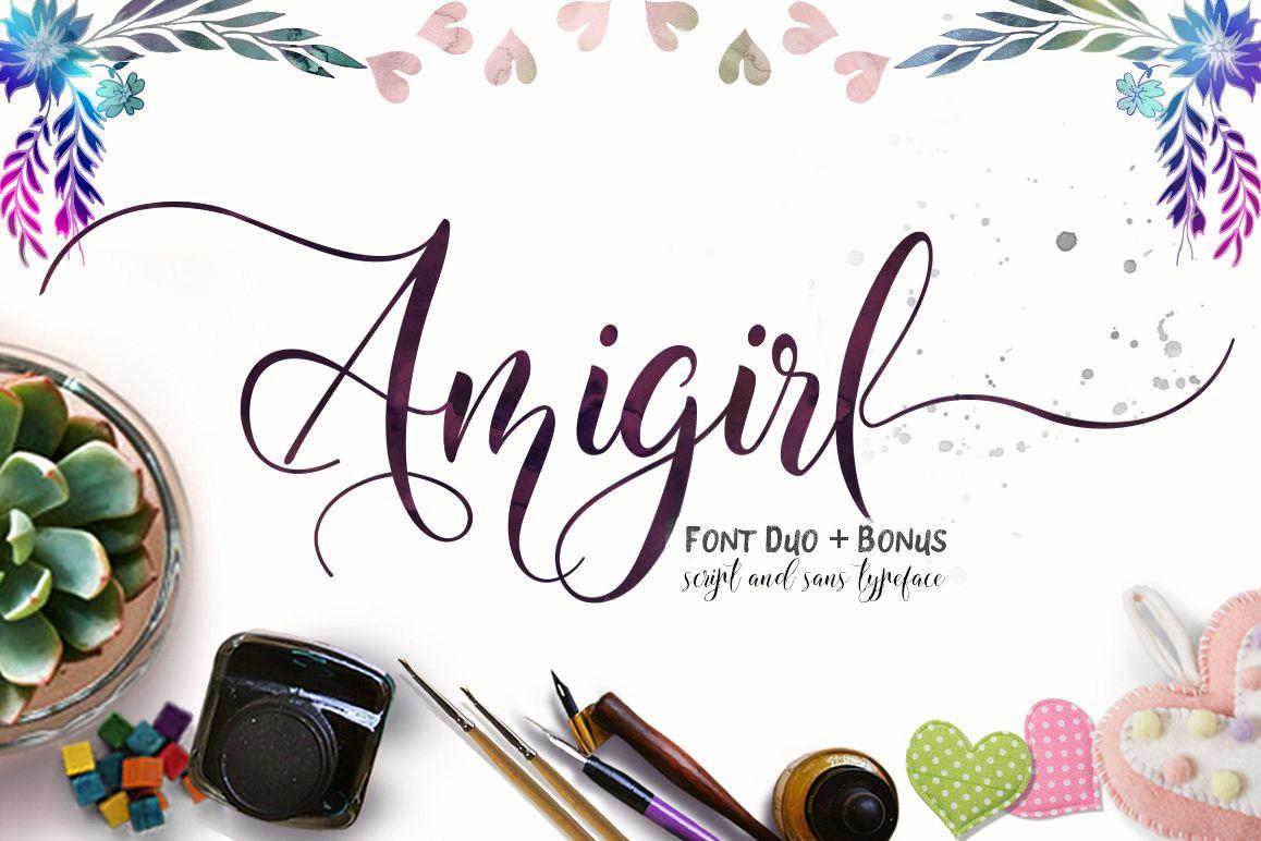 Amigirl Script example image
