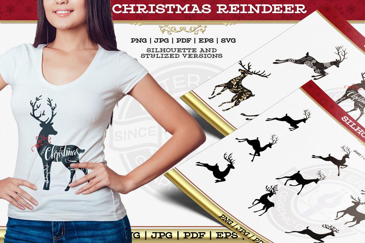 Christmas Reindeer example image