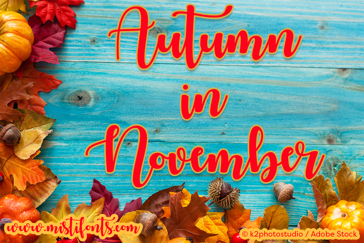 Autumn in November example image