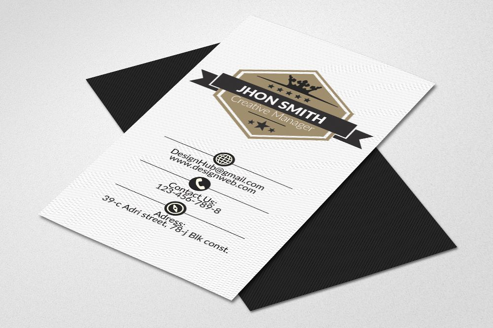 Vertical business cards psd by designhu design bundles vertical business cards psd example image reheart Images