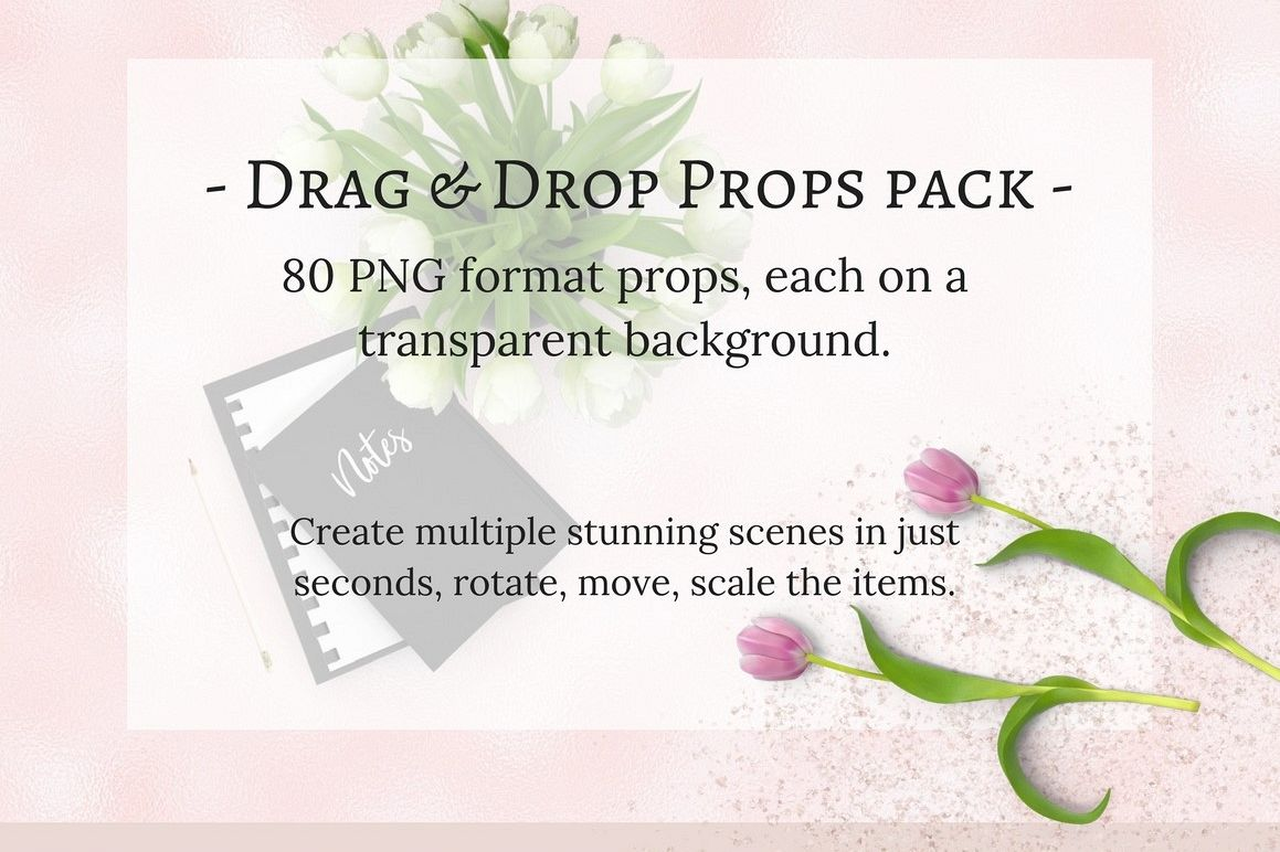 80 Drag & Drop props pack example image