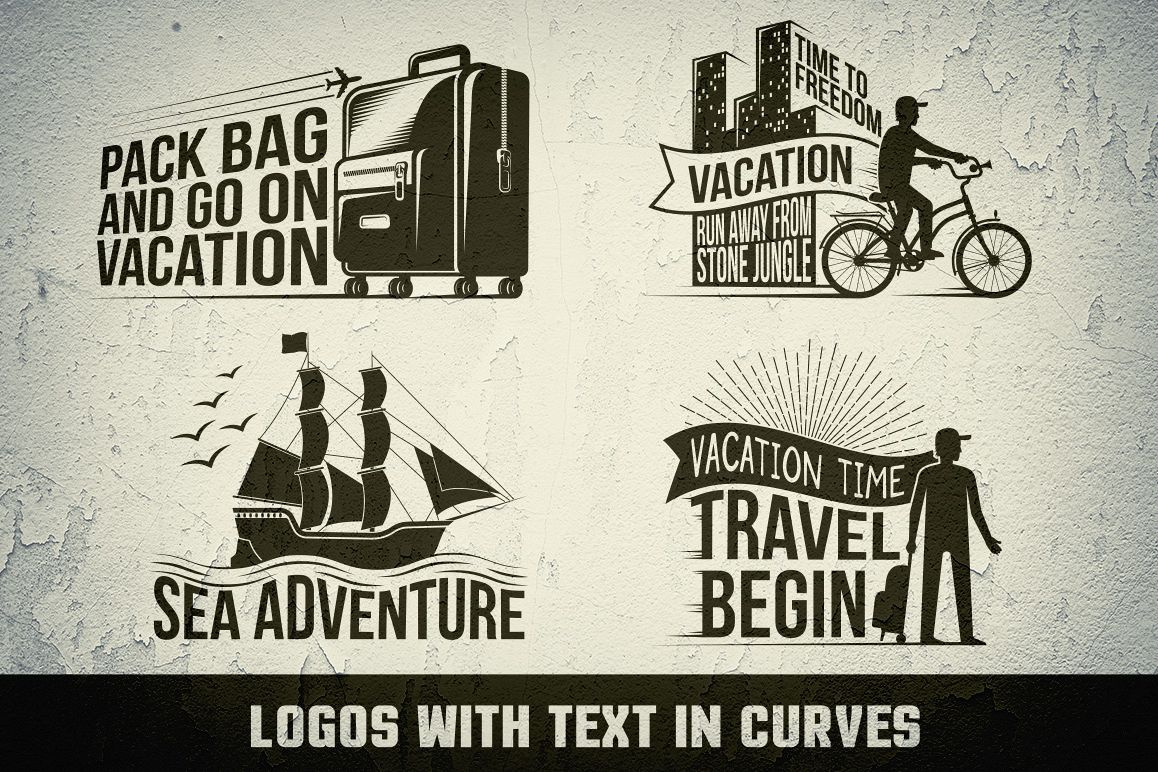 Vacation Adventure Travel logo example image 4