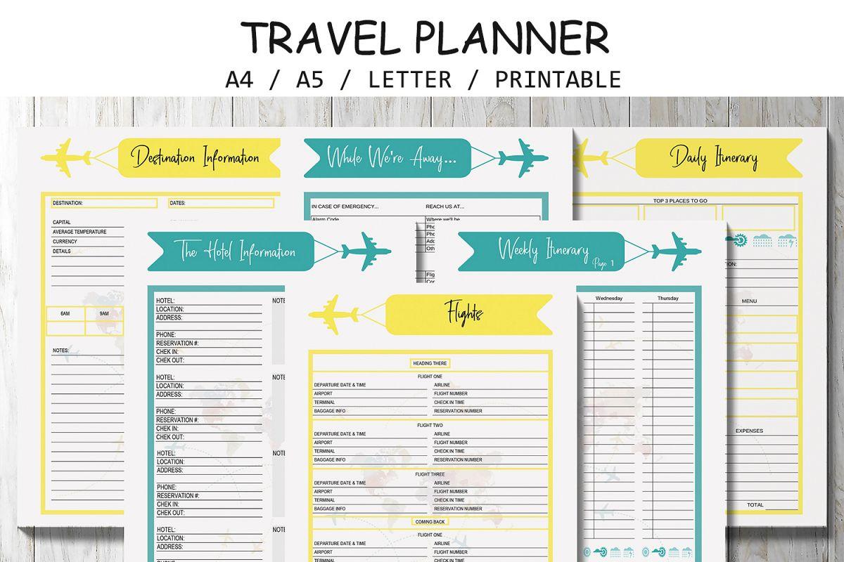 vacation planer