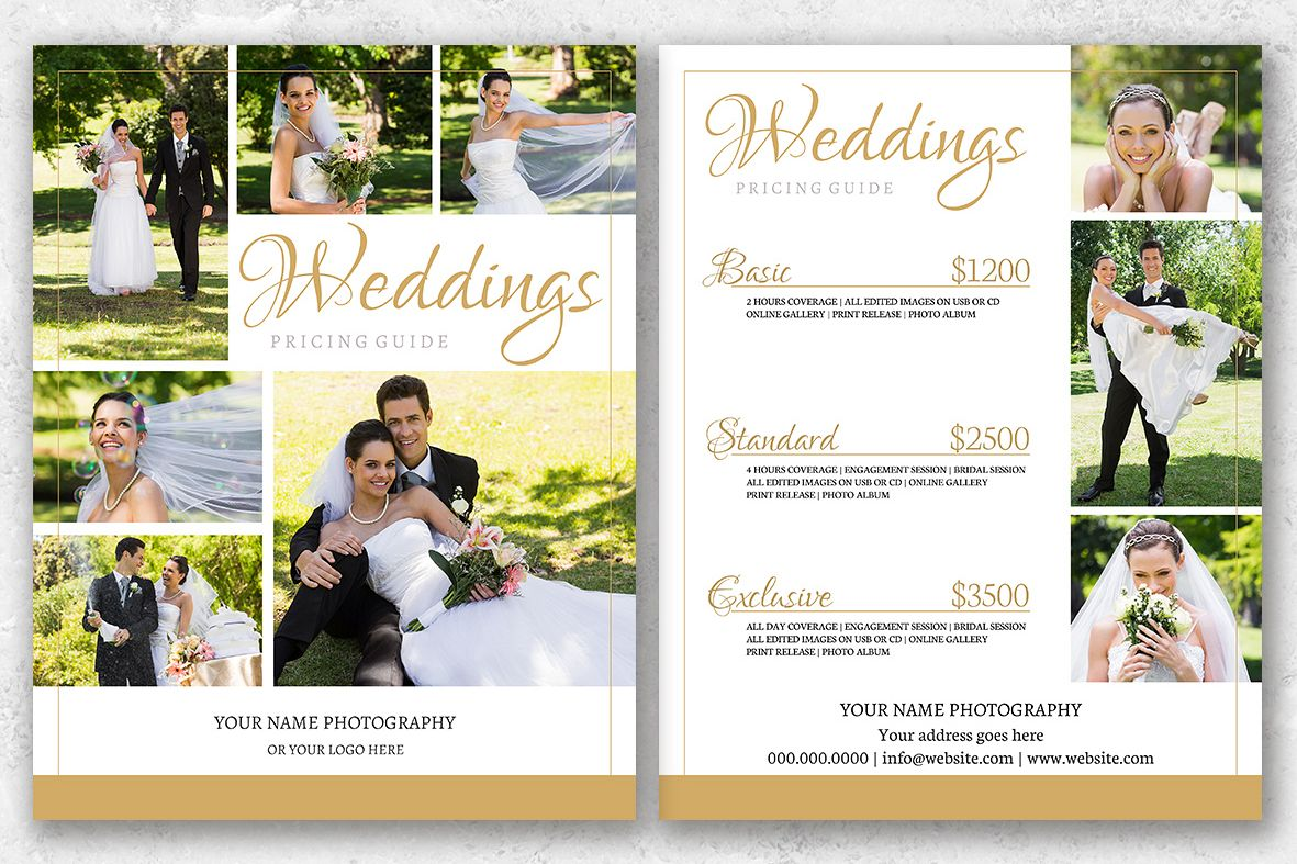 wedding pricing flyer ecza productoseb co