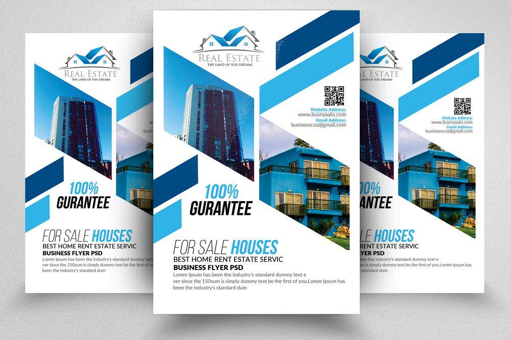 Real Estate Flyer Template By Designhub Design Bundles