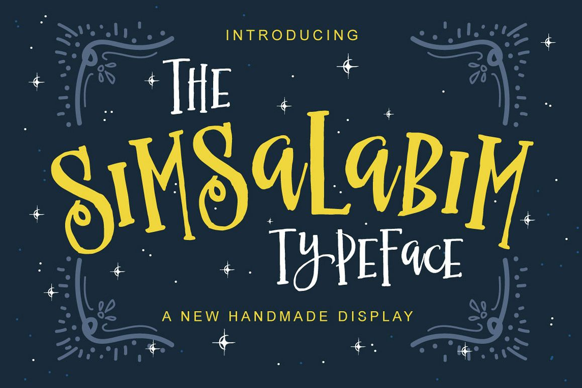 The Simsalabim Typeface example image