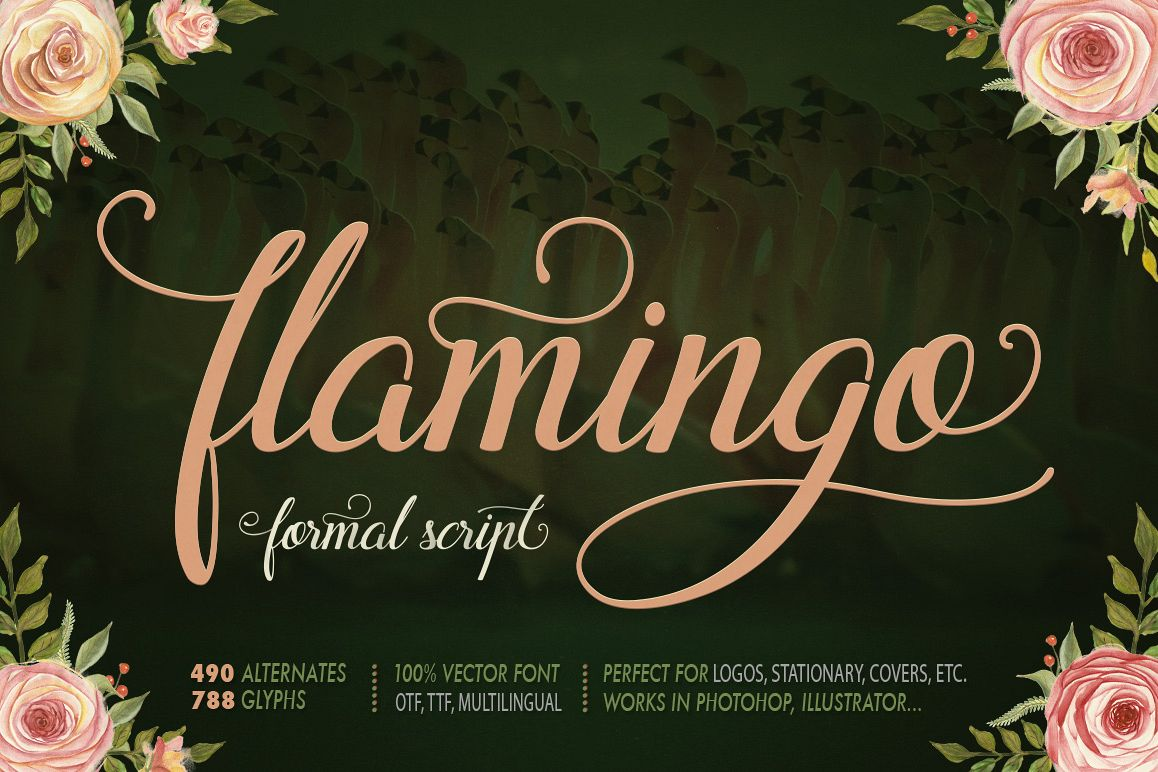Flamingo - formal script example image