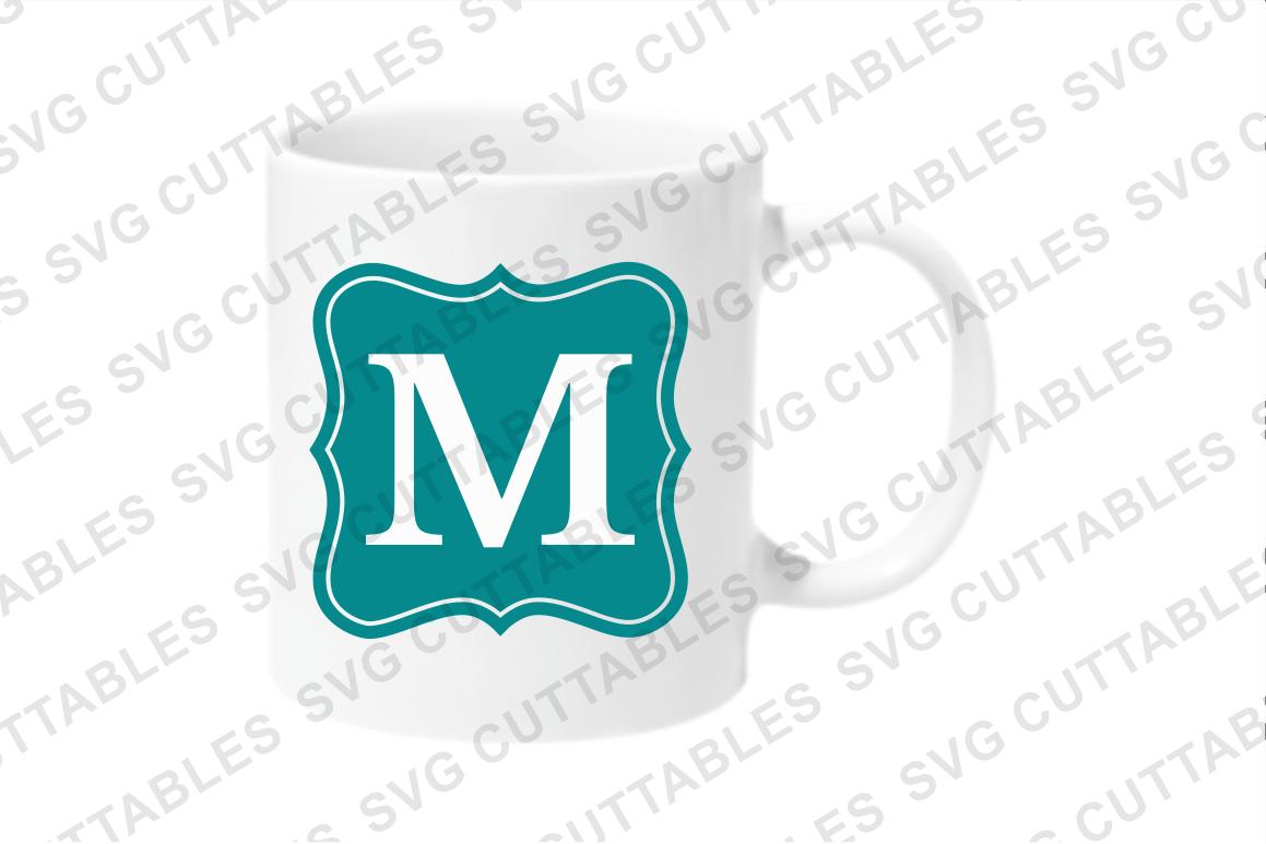 Monogram Frames set of 14 example image 2