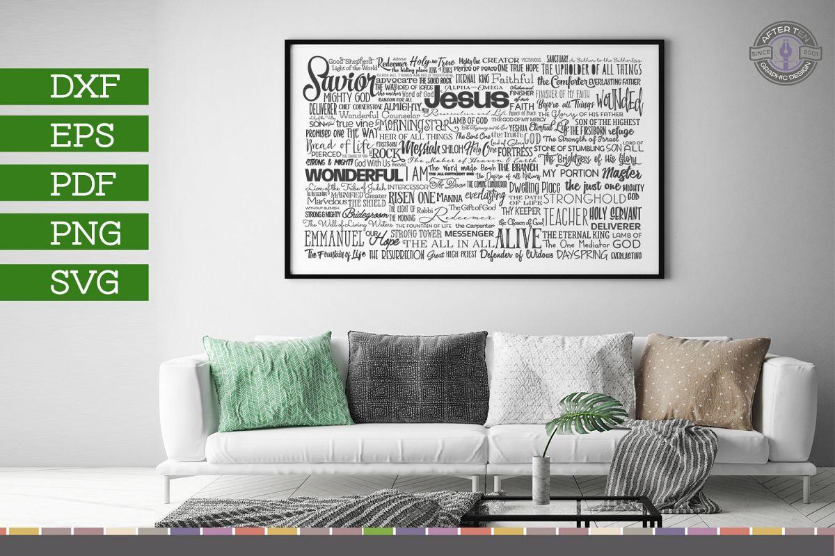 Names of Jesus example image