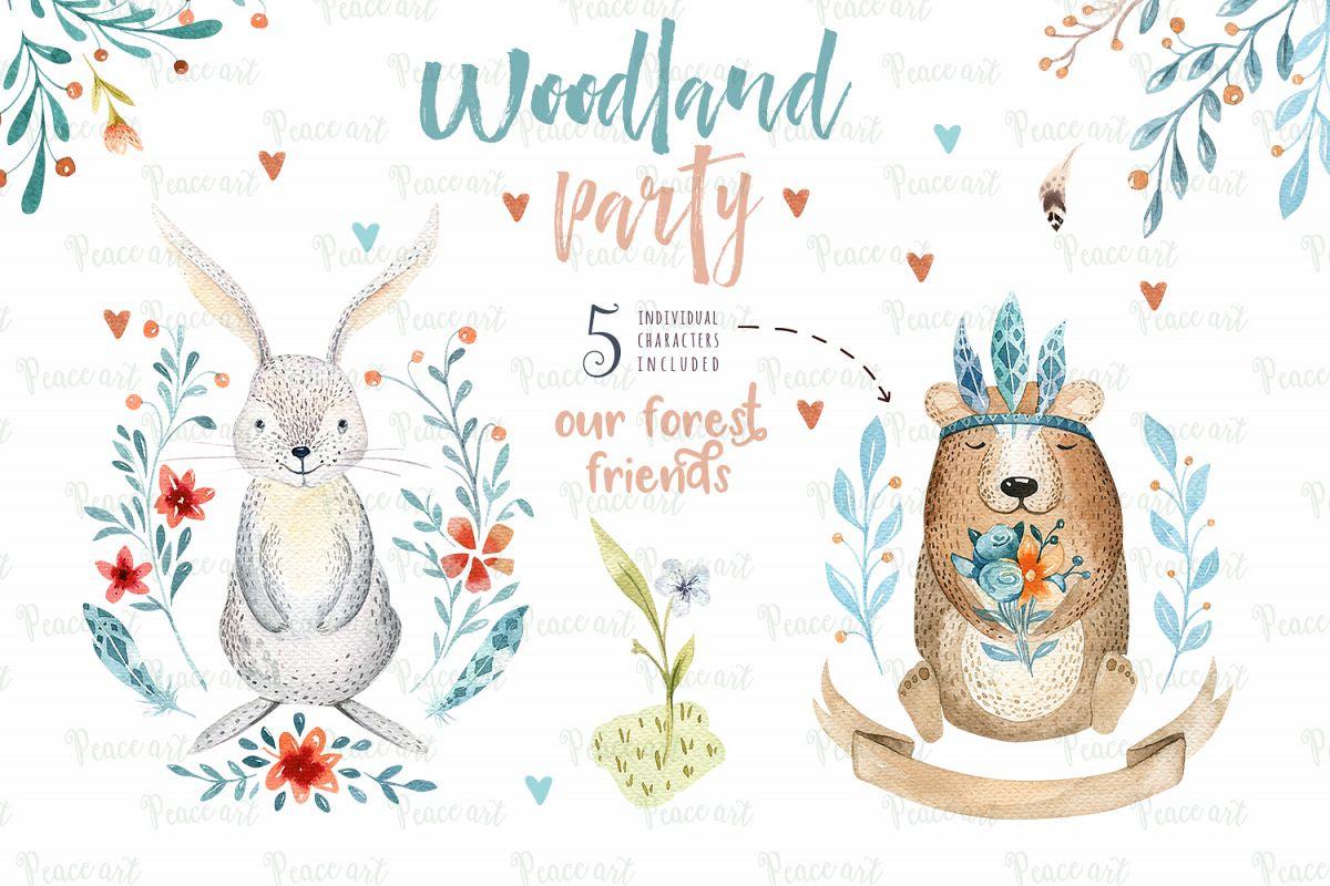 Woodland party I example image 7