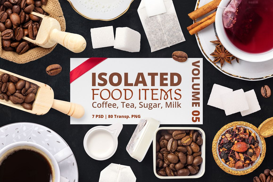 Isolated Food Items Vol.5 example image