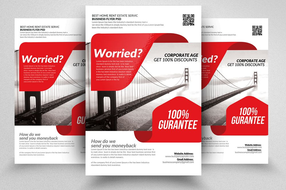 Business Consulting Flyers by Designhub   Design Bundles