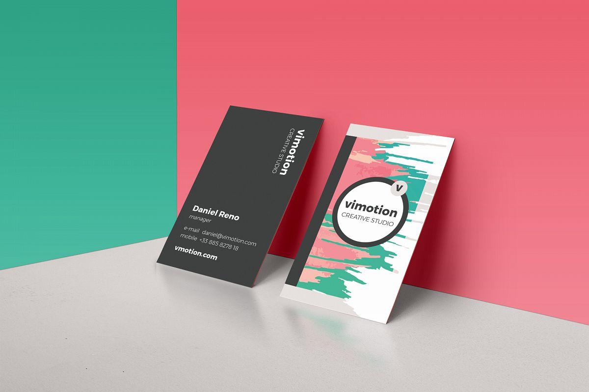 Creative Business Card Template by Feli | Design Bundles