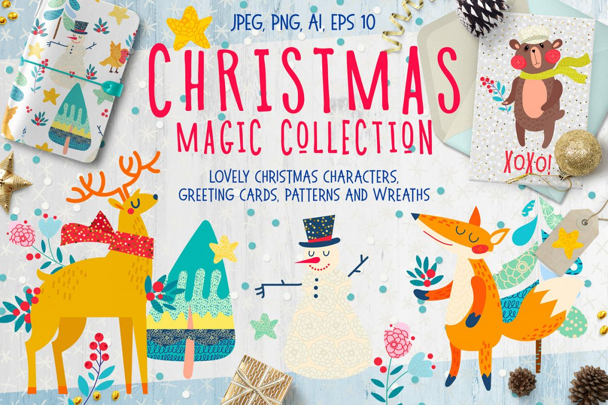 Christmas magic collection example image
