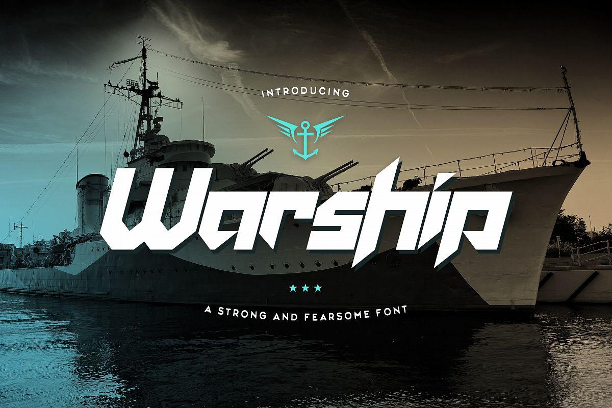 Warship example image