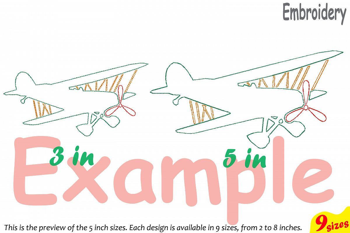 Outline plane embroidery design machine design bundles outline plane embroidery design machine instant download commercial use digital file icon symbol sign science airplane buycottarizona Gallery