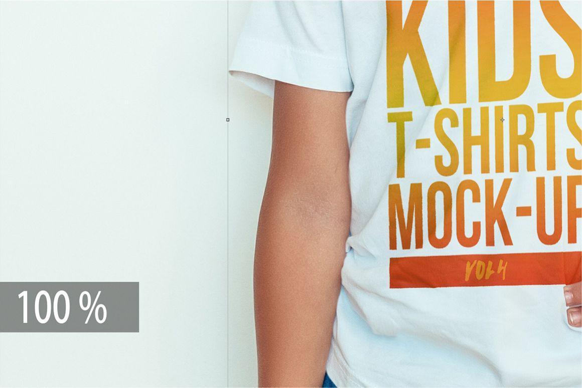 Kids T-Shirt Mock-Up Vol. 4 example image 6