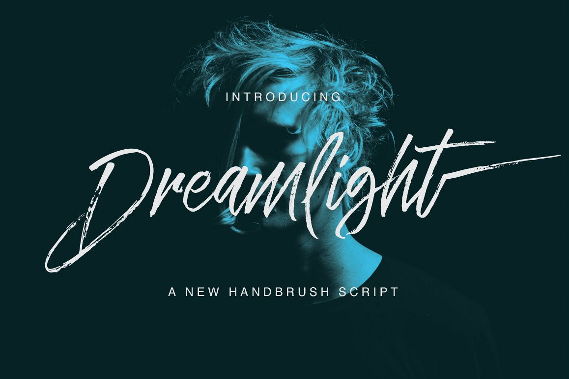 Dreamlight Typeface example image