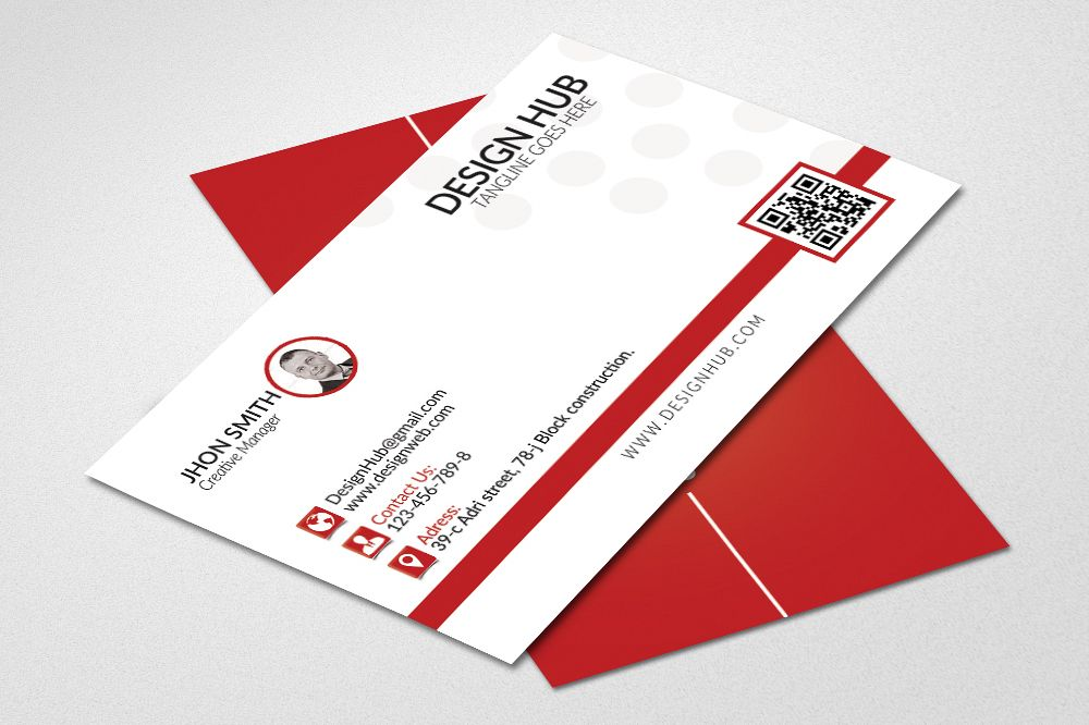 Simple business cards template by desig design bundles simple business cards template example image colourmoves Gallery