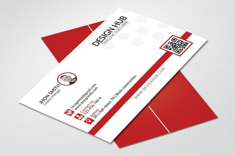 Simple Business Cards Template by Desig | Design Bundles