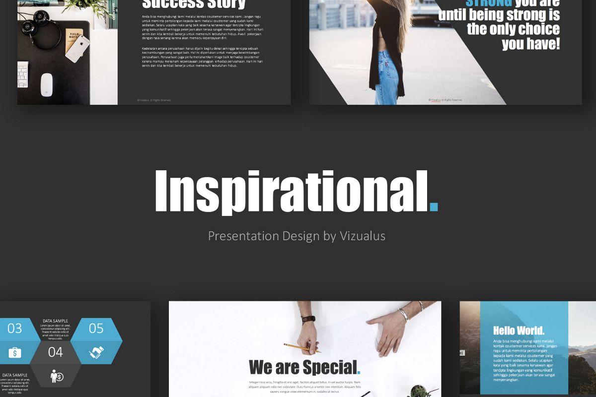 Inspirational powerpoint template by vi design bundles inspirational powerpoint template example image toneelgroepblik Choice Image