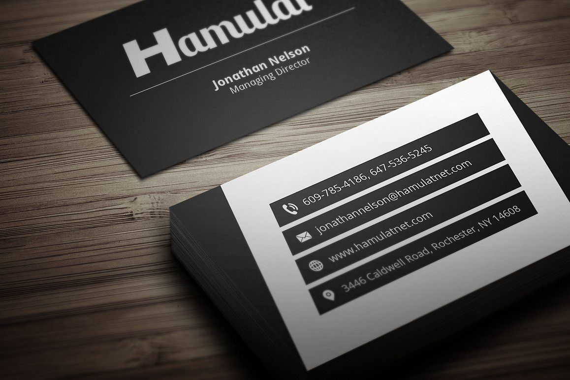 Modern business card 4 by fancy fonts design bundles modern business card 4 example image reheart Gallery