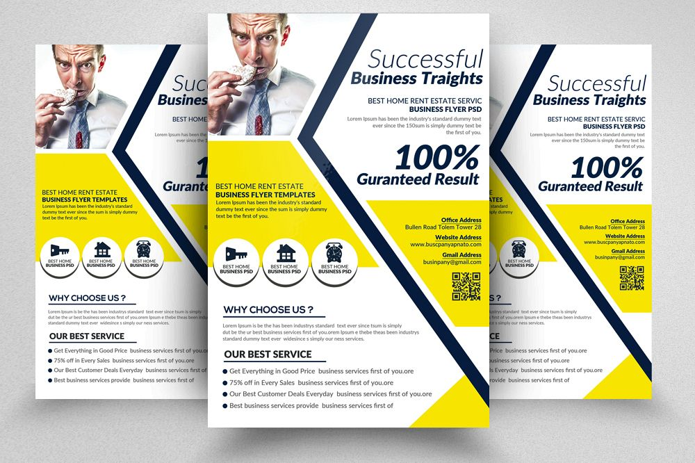 Small business consulting flyer templat design bundles small business consulting flyer templates example image wajeb Choice Image