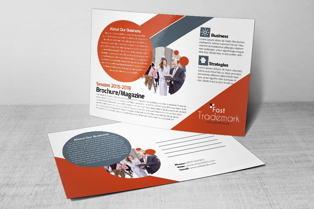 Latest Business Postcards Templates by | Design Bundles
