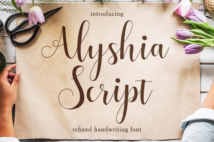 Alyshia Script example image