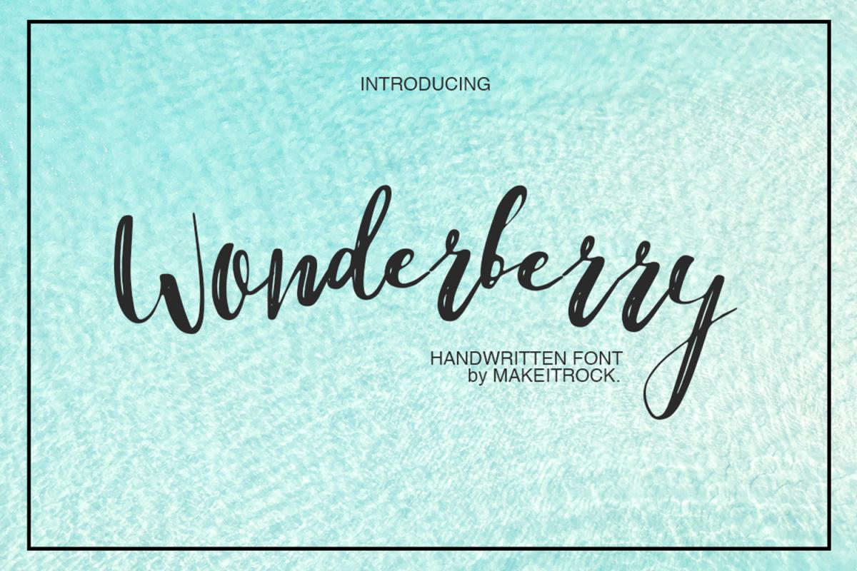 Wonderberry example image