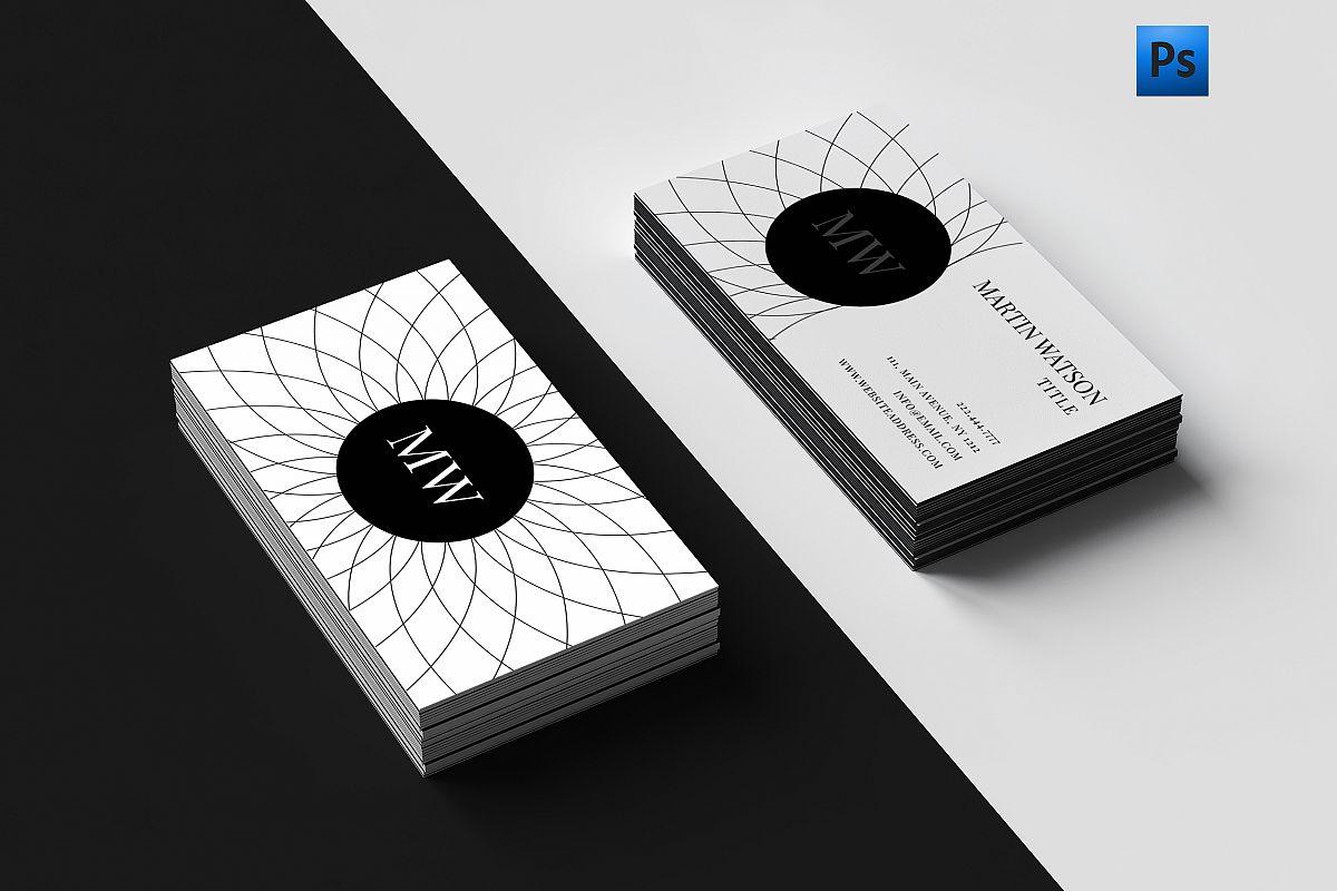 Clean & classy business card by Creativ | Design Bundles