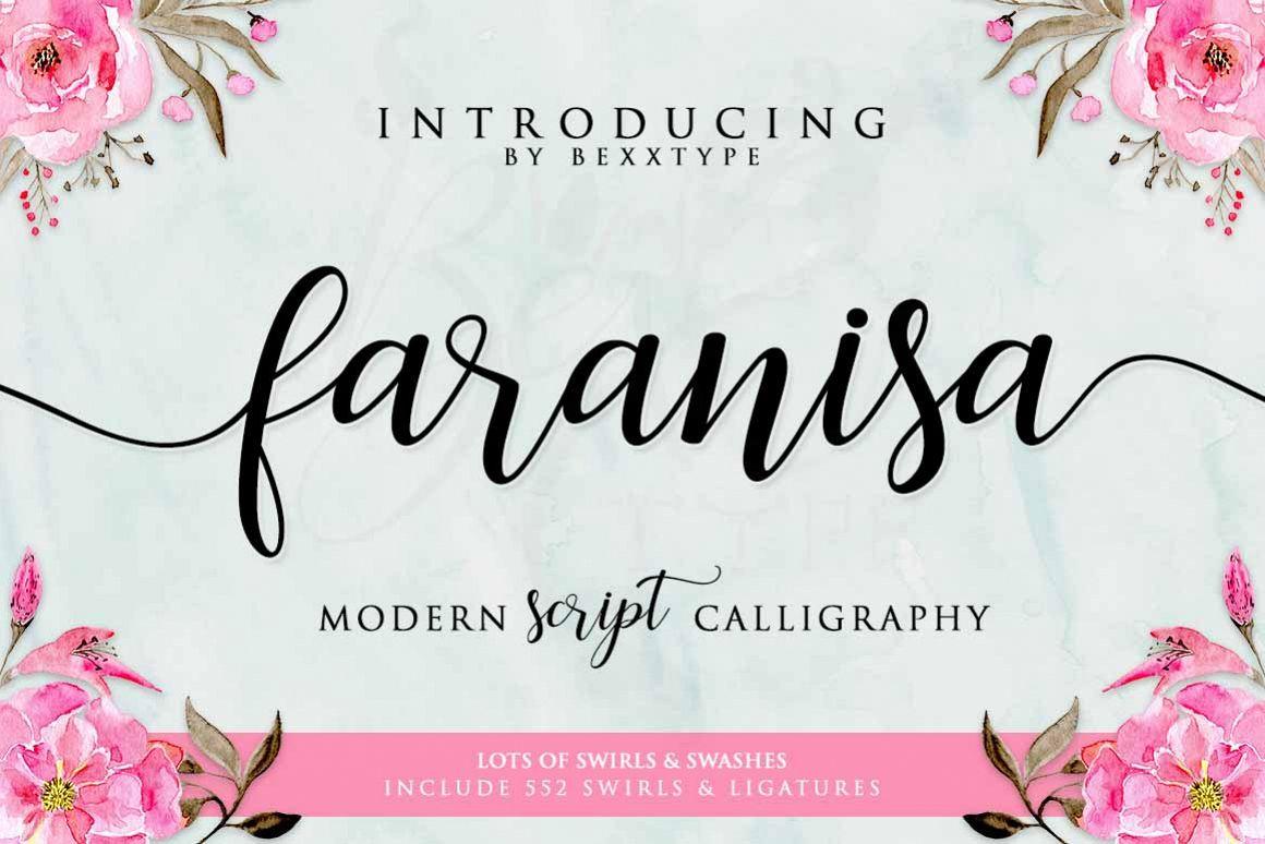 Faranisa Script example image