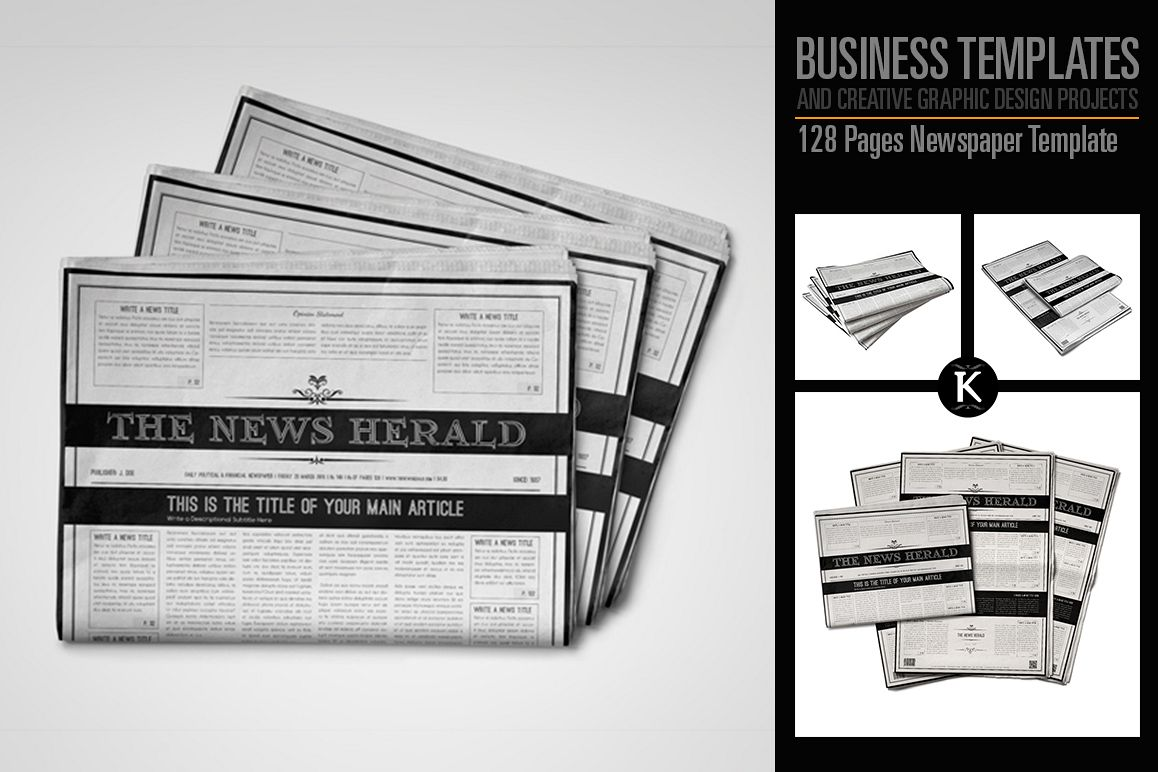 Best Newspaper Template For Pages Images >> Newspaper Template For ...