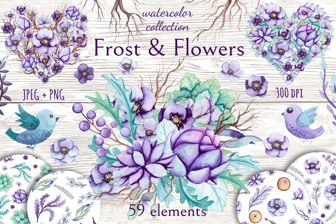 Frost & Flowers example image