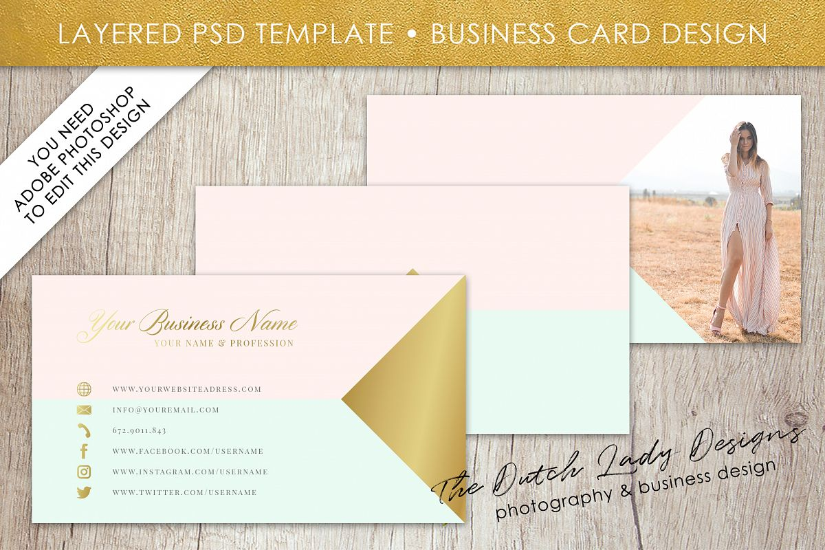Business card template for adobe photos design bundles business card template for adobe photoshop layered psd template design 13 example image wajeb Image collections