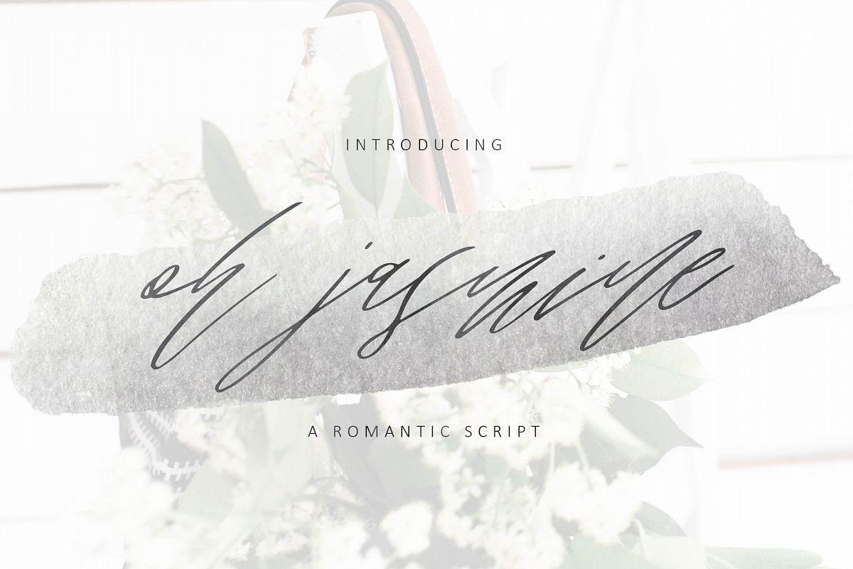 Oh Jasmine Signature Script example image