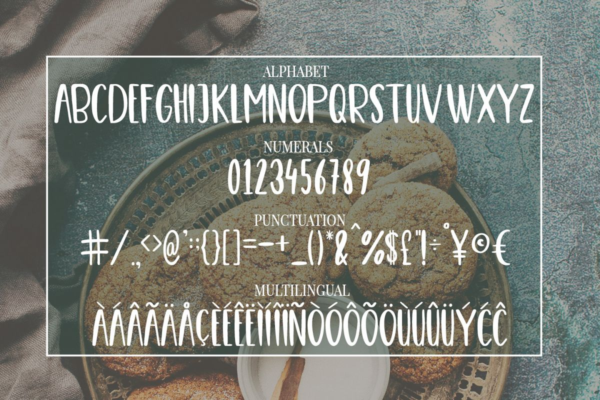 Cute, Casual, Handwritten font COOKIES example image 4