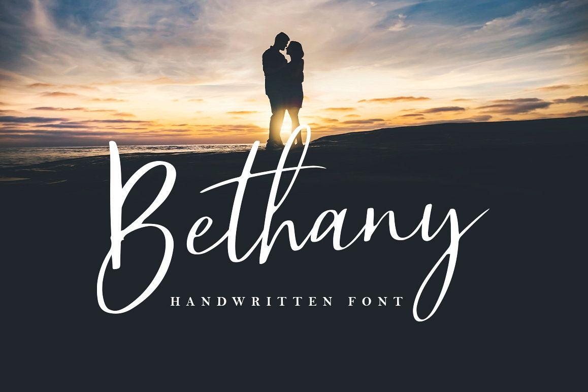 Bethany Script example image