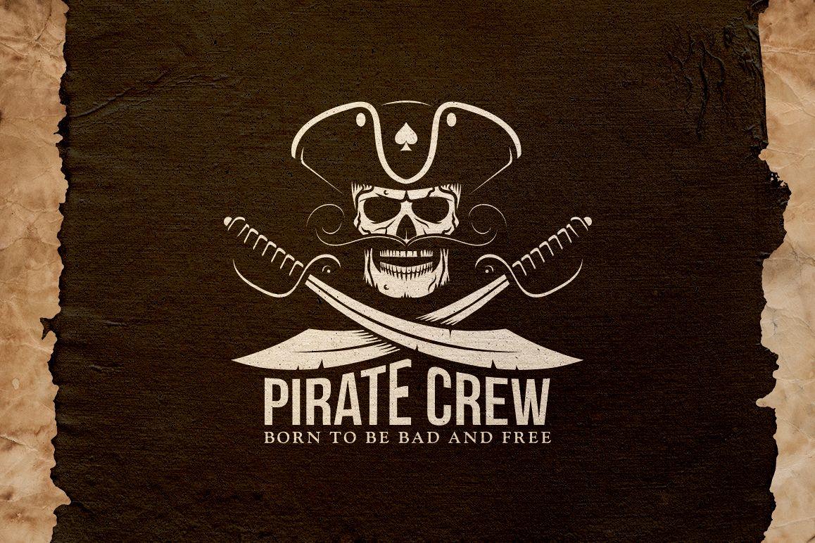Pirate Crew Logo example image