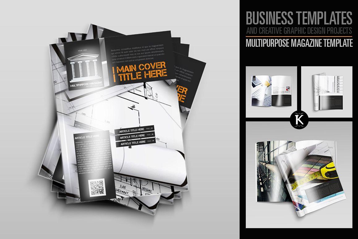 Multipurpose Magazine Template example image