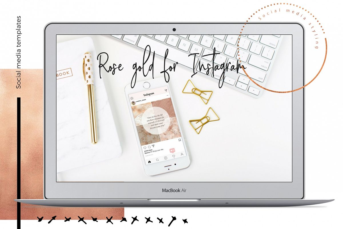 Instagram Rose gold part 1 example image