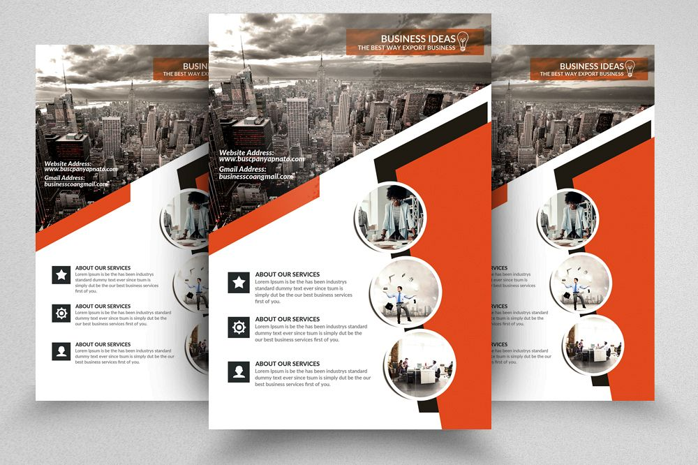 Technology Consulting It Flyer Templa Design Bundles