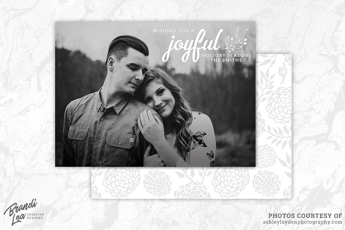 Photography Christmas Card Template By Design Bundles - Christmas card templates for photographers