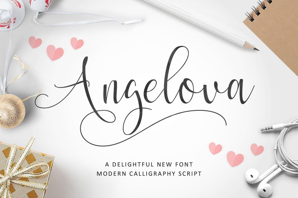 Angelova Script example image